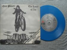 """COZY POWELL THE LONER  ARIOLA RECORDS UK 7"""" BLUE VINYL SINGLE IN PICTURE SLEEVE"""