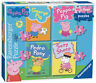 Peppa Pig Jigsaw Puzzle - My First Puzzle 4 Puzzles in a Box 06960 New