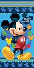 Disney Mickey Mouse toalla playa Algodón azul Niño 140cm X 70cm