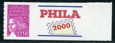 TIMBRE PERSONNALISE N° 3729D ** AUTOADHESIF / LOGO PHILA 2000