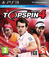 TOP SPIN 4 ~ PS3 (in ottime condizioni)