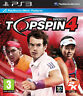 Top Spin 4 ~ PS3 (in Great Condition)