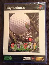 GOGOGOLF GO GO GOLF Sony PLAYSTATION 2 PS2 PAL FR ++ 100% NEUF  ++ PS 2