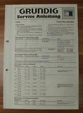 Radio Yacht-Boy 300 400 Grundig Service Manual Serviceanleitung