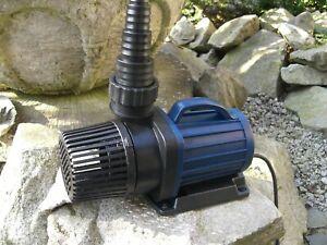 Jebao DM-12000 LV Electronics Pond Pump Pool 12 Volt