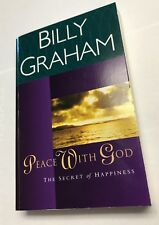 Peace with God : The Secret of Happiness by Billy Graham 1991 Paperback