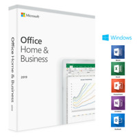 Microsoft® Office 2019 Home & Business Vollversion Original Produktkey