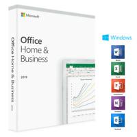 Microsoft® Office 2019 Home & Business Vollversion Original Produktkey