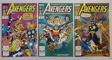 AVENGERS #'s 301, 302, 303 Near Mint NM (MARVEL COMICS, 1989) SUPER-NOVA SAGA!