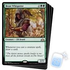 BEAST WHISPERER X4 Guilds Of Ravnica GRN Magic MTG MINT CARD
