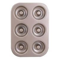 DIY 6 Cups Muffin Cake Mould Metal Cupcake Mold Non-Stick Donut Baking Pan Tool