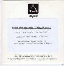 (FJ315) These New Puritans, Attack Music - 2010 DJ CD