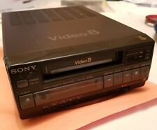 SONY EV-C3 8mm Video8 VCR Editing Player NTSC 120V + Remote/Manual