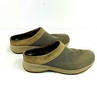 Dansko women's slip on shoes tan size 39 US 8 clog mule comfort