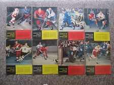 1957-1962 Stars Of The World's Fastest Game Photos. 33 Total PLUS More.