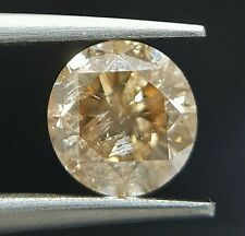 1 Carat Natural Brown Champagne Diamond Loose For Ring Best Price Real Image