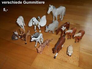 Konvolut Gummitiere Pferde Tiere Figuren Bruder