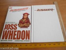 Runaways Dead End Kids Joss Whedon HBDJ TPB comic 1st print hardcover