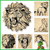 Topps Disney Collect! Lion King Ink Sketches Set of 5 + Award