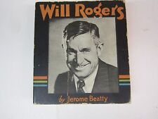 WILL ROGERS  --  Big Little Book  --   BLB 1576 - THE STORY OF WILL ROGERS 1935