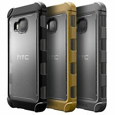 """For HTC One M9 (2015) Case Poetic Affinity """"TPU Grip Bumper"""" Shockproof Cover"""