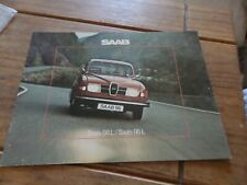 1975-76  Saab 96 L Saloon & 95 L Estate V4  UK Market Sales Brochure