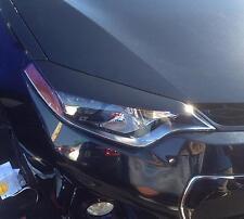 2014 Corolla head light eyelid overlays eye brows gloss black graphics pre-cut