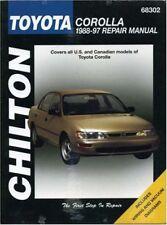 Toyota Corolla, 1988-97 (Chilton Total Car Care Series Manuals) by Chilton
