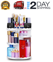 Organizador de maquillaje 360 grados Caja de cosmética Cremas perfumes Y Makeup