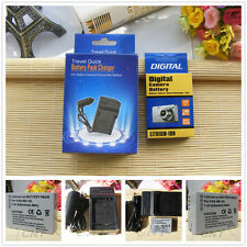 Replacement Battery NB-10L NB10L + AC/DC Charger  for Canon Powershot Cameras