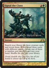 Gatecrash ~ SIGNAL THE CLANS rare Magic the Gathering card