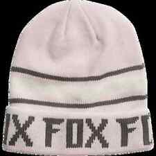 New Fox Racing Womens Pale Pink Track Cap Hat Beanie 61d6f69eea5f