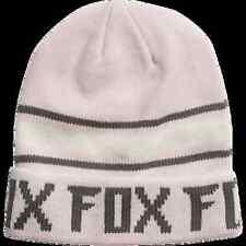 New Fox Racing Womens Pale Pink Track Cap Hat Beanie