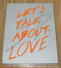 SEUNGRI 2nd Let's Talk About Love ORANGE Ver. CD + ROLLED POSTER IN TUBE CASE