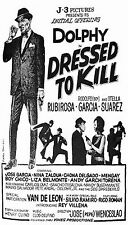 Dolphy Dressed to kill Movie Poster 14x20 inches