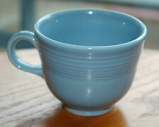 Fiesta Ware 8oz Coffee Mug Tea Cup Light Baby Periwinkle Blue Homer Laughlin