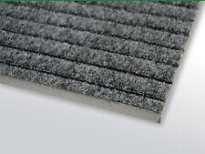 Riefenmatte, grau 40 x 60 cm Rahmenaussenmaß Reinstreifer Fußabstreifer