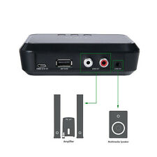 RCA to 3.5mm Speaker NFC Wireless Bluetooth Stereo Audio Music Receiver Adapter