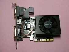 PNY Geforce GT710 2GB-2048MB PCIe Video Graphics Card HDMI DVI VGA 3 Monitor