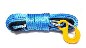 Synthetic winch rope 10mm 28m with hook! 10500kg breaking strain!