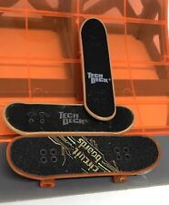 TECH DECK FINGERBOARDS SKATEBOARDS PROFESSIONAL TONY HAWK CIRCUIT BOARDS RAMP