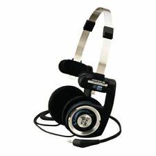 Koss PortaPro Stereo Wired Headphones Folding Design KH4001 - Black/ Silver