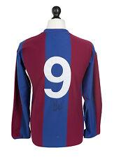Johan Cruyff Signed Barcelona Shirt Autograph Retro 1970s #9 Jersey Memorabilia