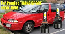 LED TRANS SPORT 1990-1996 Headlight Kit 9006 HB4 6000K White CREE Bulbs Low Beam