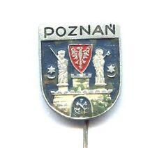 Poznań (Posen) pin Polish city badge coat of arms the first capital POLAND (3)