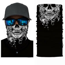 Skull Cycling Motorcycle Scarf Neck Warmer Face Mask Balaclava Bandana Headband