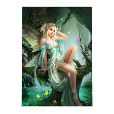 Fairy DIY 5D Diamond Painting Beauty Girl Cross Stitch Art Kit Home Decor