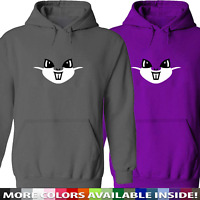 Cute Cartoon Hamster Face Unisex Mens Women Hoodie Sweater Sweatshirt Pullover