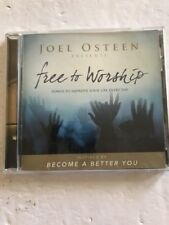 Joel Osteen•Free to Worship•CD•Tested•Rare•Collectible Ships N 24hrs