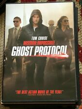 MISSION IMPOSSIBLE GHOST PROTOCOL Tom Cruise DVD Movie